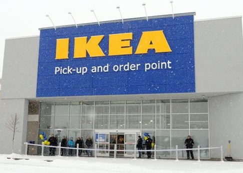 IKEA pick up centre Whitby, Ontario Canada