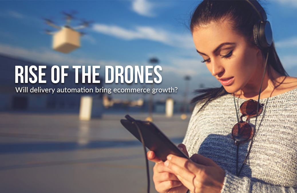 Drones for ecommerce delivery
