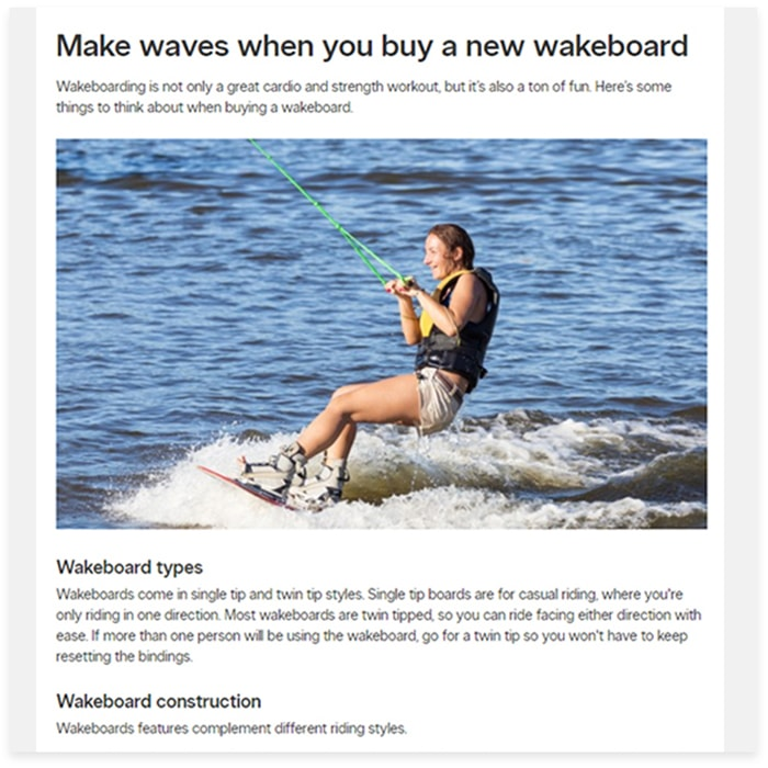 buying guide for wakeboard
