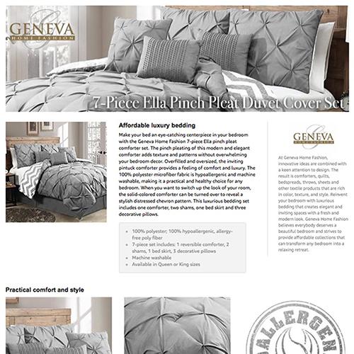 Amazon Vendor Central A+ Plus page by geekspeak