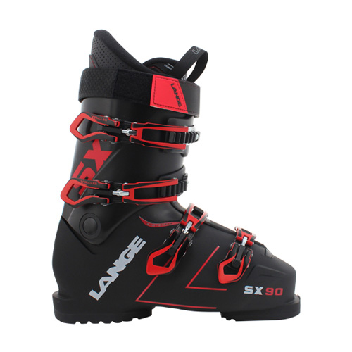 commercial product photography of ski boot