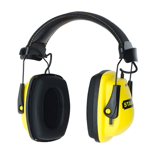 commercial product photography of work earmuffs