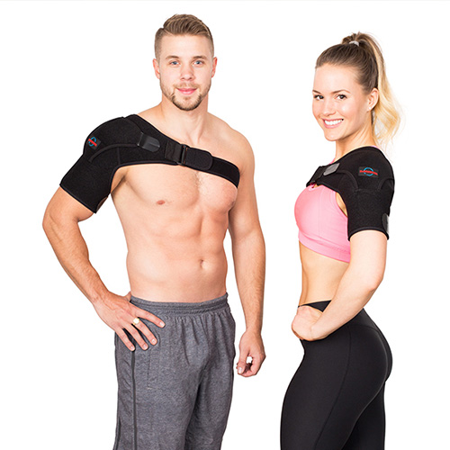 commercial product photography of posture corrector