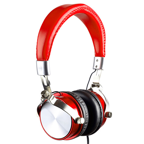 commercial product photography of on-ear headphones