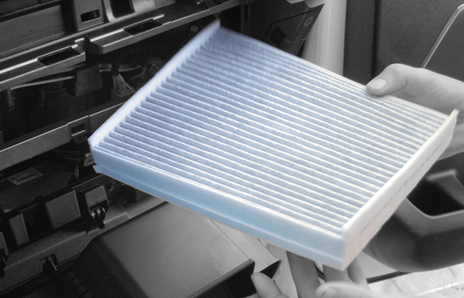 Click on this car cabin filter lifestyle image to open the A+ page