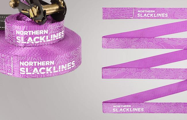 Image of slackline kit