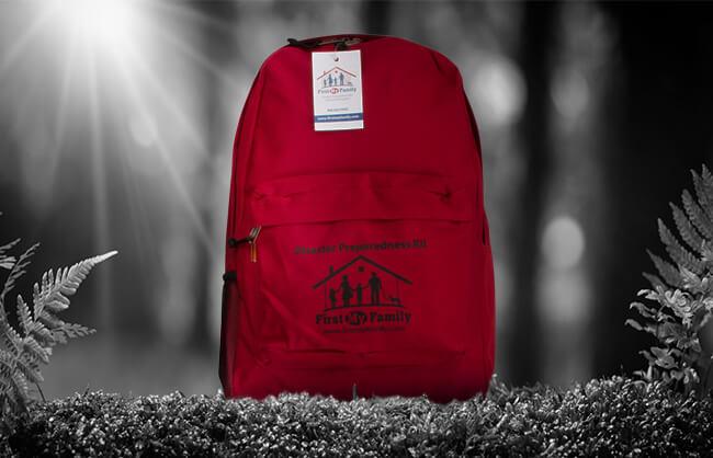 Emergency pack lifestyle image