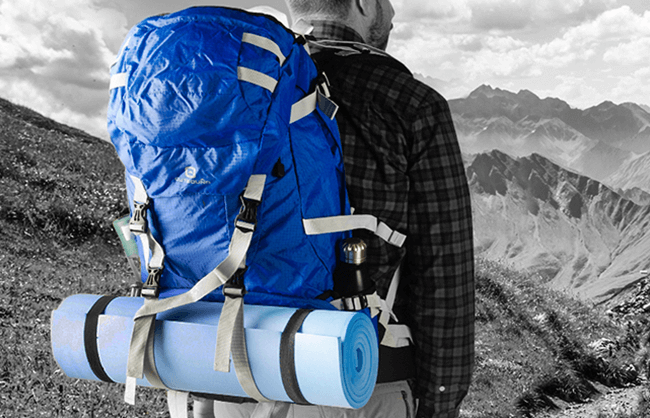 Outbound backpack lifestyle image for Canadian Tire
