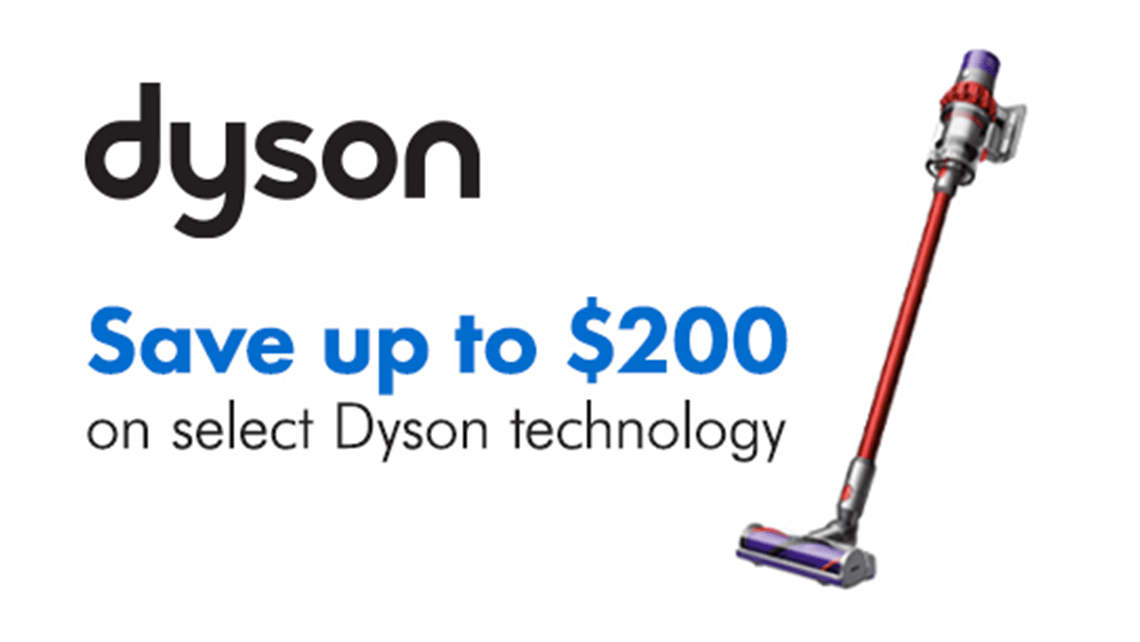 Dyson PPC ad for Home Hardware
