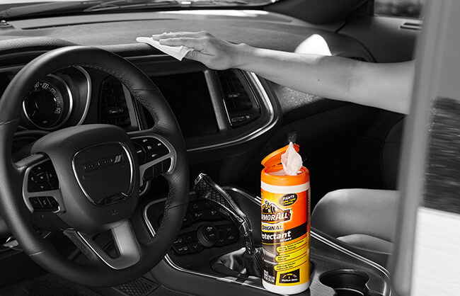 Armor All lifestyle image of product in car