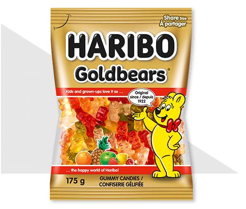 Ecommerce product photo of Haribo Goldbears